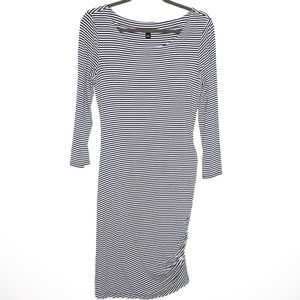 Banana Republic | Striped Long Sleeve Dress S